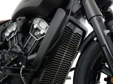 Radiator cover for Indian Scout models