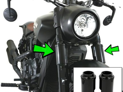 2 Piece Lower Fork Cover Kit For 18-UP Scout Models