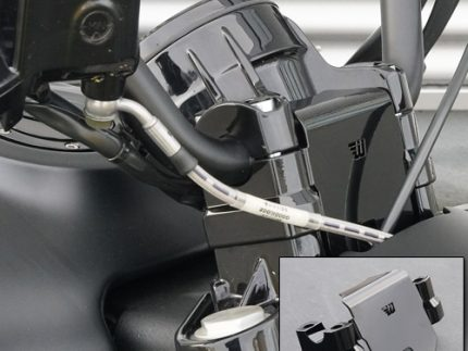 Handlebar Riser Kit 30mm Indian Scout Black With Cover
