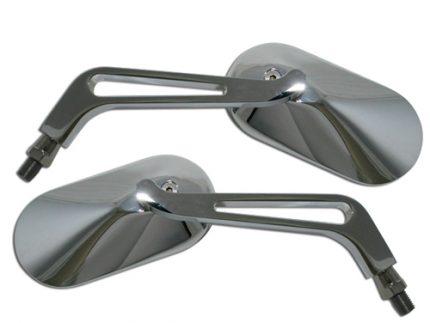 Chrome SHIN YO Mirror OVAL, aluminium