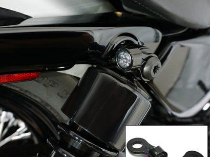 Mini Round Shock Mount Taillight/Brake Light Only